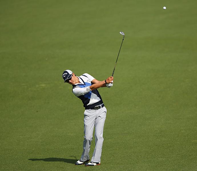 Ryo Ishikawa is making his fifth Masters start this week.