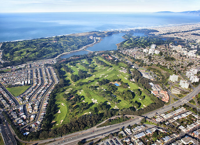 "2. San Francisco Golf Club, San Francisco, Calif., 1915                     Tillie may have crafted his most gorgeous collection of bunkers at this low-key Bay Area hideaway that avoids publicity as steadfastly as its neighbor — The Olympic Club — embraces it. The highlight is the drop-shot par-3 7th, Tillie's favorite of all the holes he ever designed. Called the ""Duel Hole,"" it was the site of the last legal duel in United States history, when State Supreme Court Justice David Terry shot and killed U.S. Senator David Broderick."