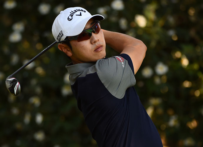 Sang-Moon Bae fired a 7-under 65 on Saturday to open up a 4-shot lead after the third round of the Frys.com Open.