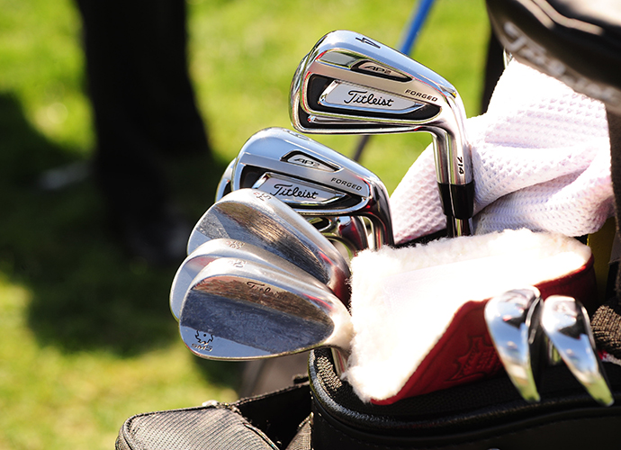 Scott Stallings uses three Vokey wedges.