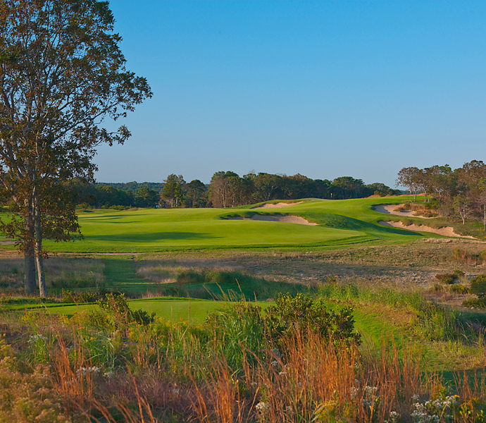 Sebonack is located next to two of the best golf courses in the United States: National Golf Links of America and Shinnecock Hills, the latter of which will host it's fifth U.S. Open in 2018. (Pictured: 10th Hole).