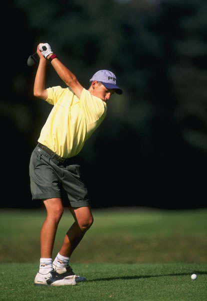 Sergio Garcia at the 1995 European Young Masters.