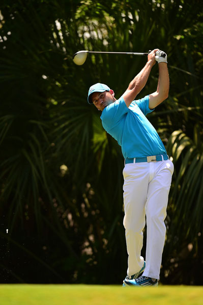 Sergio Garcia was in the group of players at 6-under after shooting a second-round 71.