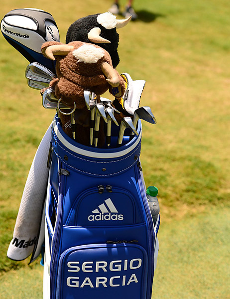 Sergio Garcia got off to a hot start Thursday at the Players. He's swinging TaylorMade Tour Preferred MC irons.