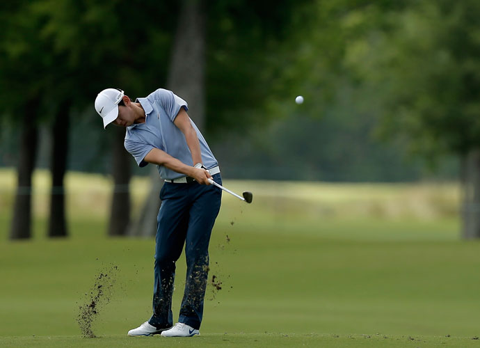 Seung Yul Noh shot 68 and was -11, four shots behind leader Ben Martin.