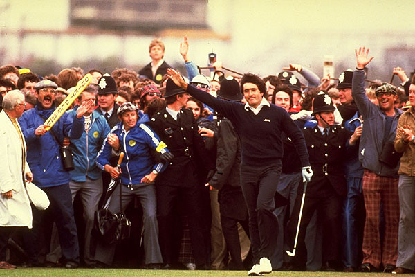 Ballesteros won his fist major championship at the 1979 British Open at Royal Lytham & St. Annes. He was three strokes better than runners-up Jack Nicklaus and Ben Crenshaw.