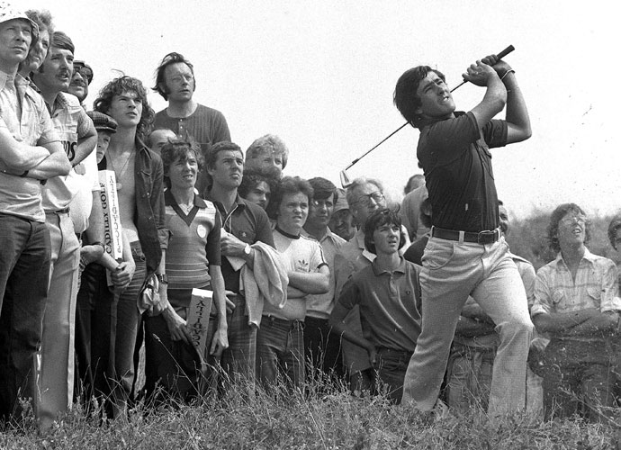 1. Seve Ballesteros                       Ballesteros won 91 times around the world and played on eight Ryder Cup teams. His last Ryder Cup match was in 1995, a 4 and 3 loss against Tom Lehman. Seve didn't hit a fairway through nine holes but was only one down. Lehman said it was the greatest nine holes he had ever seen.