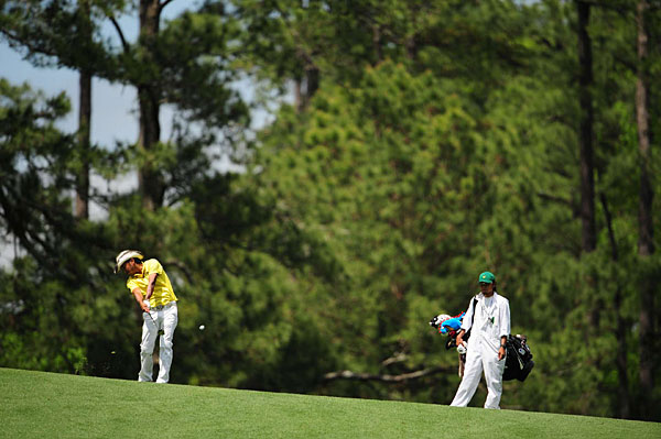 Shingo Katayama of Japan is six under, tied with Todd Hamilton and Rory Sabbatini.