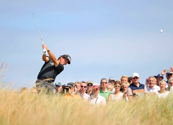BEST TOM WATSON IMPRESSION                       Who was that linksman cannily managing his way around Muirfield for 70 holes? Phil Mickelson somehow reined in his let-'er-rip mentality and channeled the cagey, conservative Watson, putting himself in position to win the Claret Jug late that Sunday.