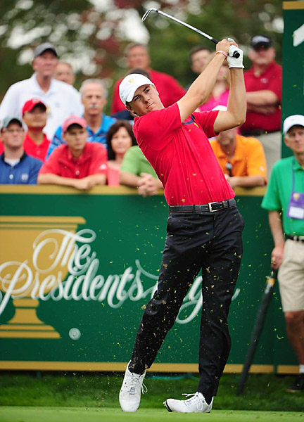 MOST SENSATIONAL ROOKIE SENSATION                       At the tender age of 19, Jordan Spieth became the first teen to win on Tour in 82 years. He holed out a bunker shot on the 72nd hole of the John Deere, then prevailed in a three-man playoff. Spieth, who had no status on Tour at the start of the year, finished 10th on the money list with $3.88 million. Someone pop some champ...um, apple cider!