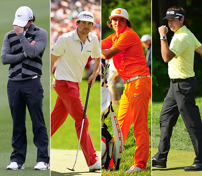 MOST HEAD-SCRATCHING DISAPPEARING ACT                       A four-way tie. Rory, Keegan, Rickie Fowler and Bubba Watson disappeared faster than Nick Faldo when the waiter brings the check. (I kid, Nick!) Hey, guys -- golf called. It wants its Future of the Game back.