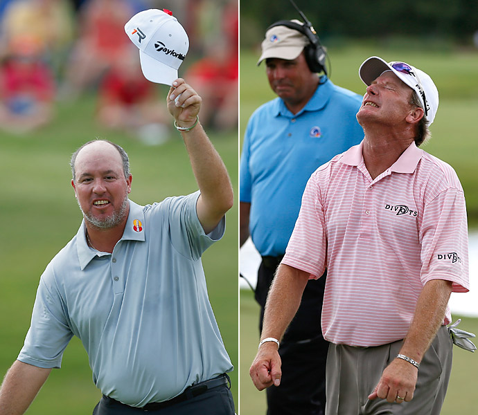 BEST COMEBACK WIN                       They're definitely not booing. Fan-favorite Boo Weekley won for the first time in five years, at Colonial in Fort Worth, Texas, and Woody Austin ended a six-year drought, hoisting the Sanderson Farms Championship trophy in Madison, Miss.