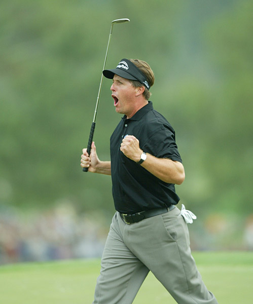 Fall 1999-Spring 2005: Add three other wins to Mickelson's career total: the 1999 WGC NEC Invitational, Arnie's 2001 shindig at Bay Hill and the 2005 Ford Championship at Doral.