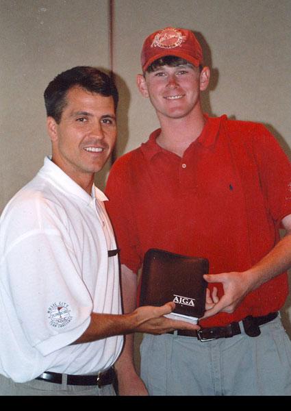 Brandt Snedeker earned individual medalist honors at the 1998 AJGA Music City Junior Team Challenge.