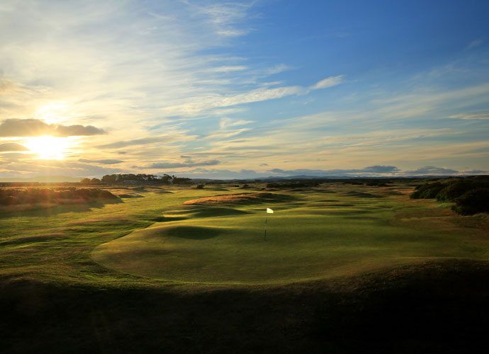 The 'New' Course at St. Andrews                       You gotta love a place where a layout called the New Course was designed by Old Tom Morris in 1895.