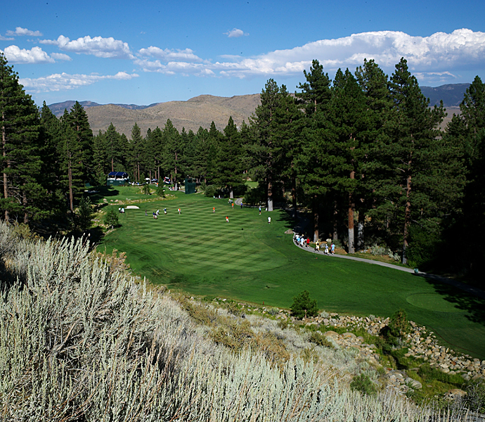 T-No. 3                     636 yards -- 17th, Montreux G&CC                     Home of the Reno-Tahoe Open