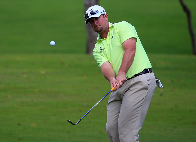 Steve Wheatcroft made zero bogeys on the way to his own 65.