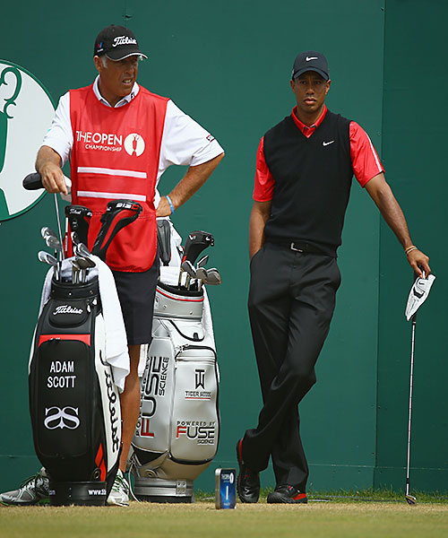 "Stevie Williams: Together for 12 years, Tiger and Stevie won a lot of money -- and broke a lot of cameras -- together. But their 2011 divorce was bitter -- especially for Williams, who proceeded to call his first win with new loop Adam Scott his ""most satisfying win ever."" BWilliams kept going at a caddie gala months later, saying of his former boss, ""It was my aim to shove it right up that black a------."" Then this year, Williams revealed that he always hated that Tiger called him ""Stevie."""