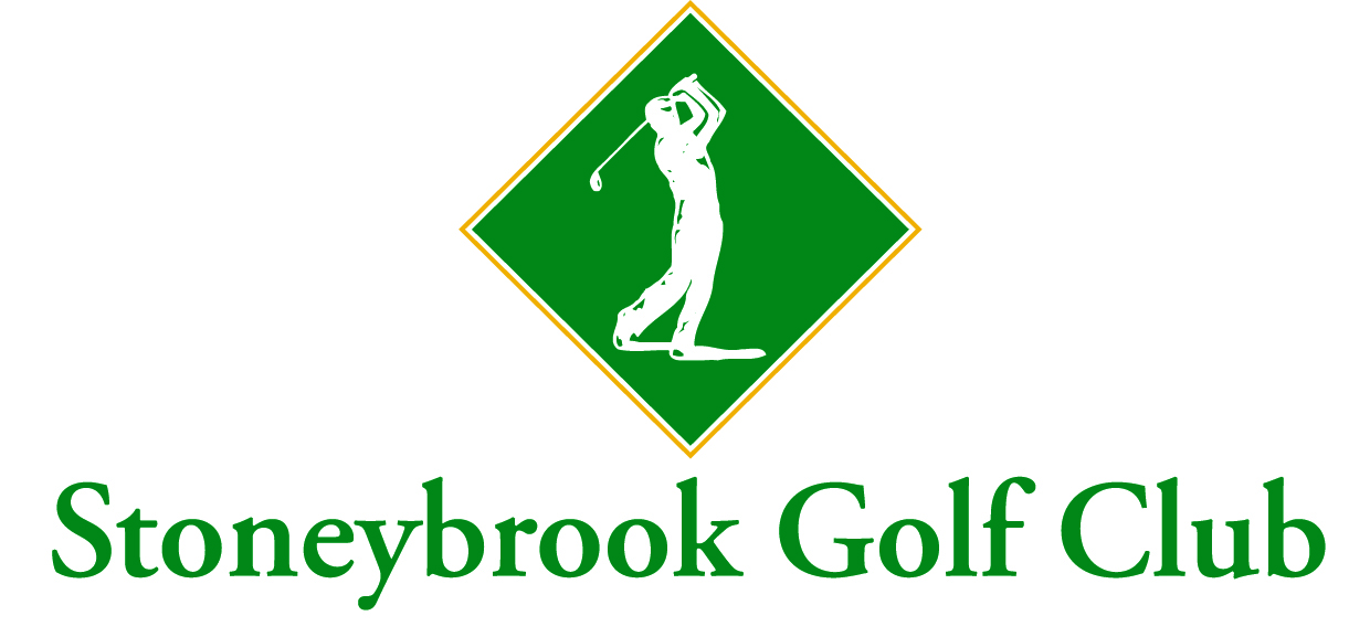 Stoneybrook Golf Club in Sarasota, Fla.: You could have found a livelier logo in Microsoft Word's clip art library.