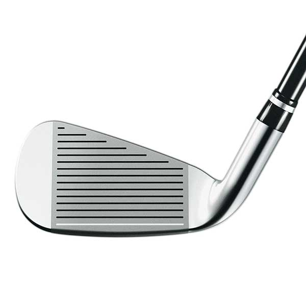 The 4- through 7-irons have an ultra-thin steel face.