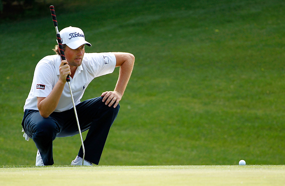 Webb Simpson had a one-shot lead entering the final round, but shot 73 to miss the playoff by one.