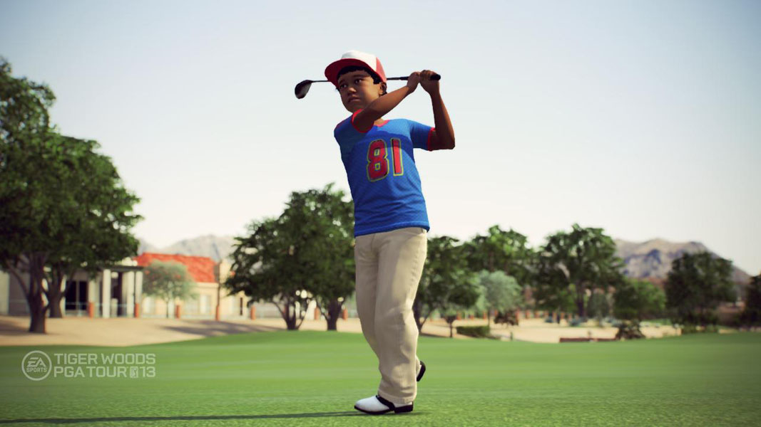 Early Years                     From 1983 to 1986, when Tiger was 7 to 10. Gamers will get a chance to play in some of Tiger's first golf tournaments, including the Junior World Championships.