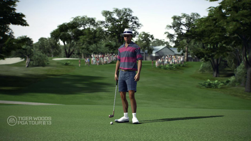 Rookie Years                     Tiger at 21 and 22, his first two years on the PGA TOUR. Gamers can try to follow in Tiger's footsteps and win the green jacket or ace the 16th hole at TPC Scottsdale.