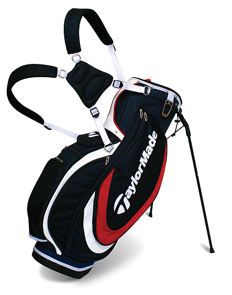 TaylorMade Diablo Golf Bag                       taylormadegolf.com, $185                       Tipping the scale at less than six pounds, and with dense foam straps and back panels, the new Diablo stand bag should make a long walk a lot more comfortable. The bag has individual shaft dividers and nine pockets, including one that's insulated to keep a drink cool.