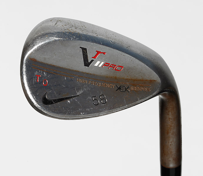 WEDGES: Nike VR Pro (46°, 54°, 58°) with Project X 6.5 shaft