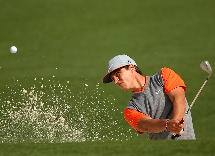 Thorbjorn Olesen is playing in his first Masters this week.