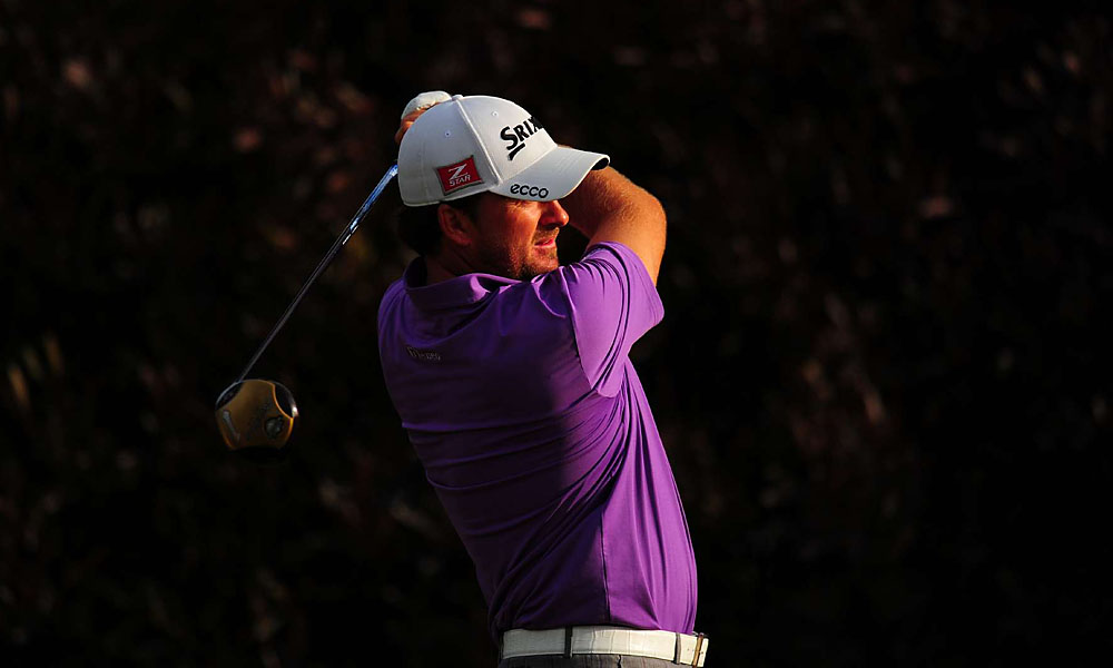 McDowell shot three under on the back nine for a third-round 68. Only he and Furyk remain in red figures at Olympic.