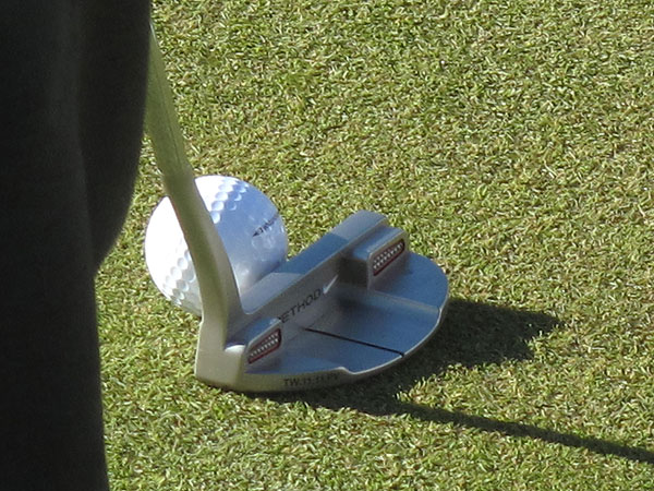 Tiger Woods is using his Nike Method 003 putter this week at the Masters.