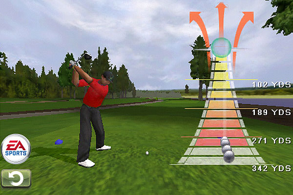 EA Sports Tiger Woods PGA Tour 2009 iPhone App ($9.95)                       Available on iTunes                       This scaled down version of the classic golf video game allows you to compete on Pebble Beach, St. Andrews, TPC Sawgrass and many other amazing venues against pros like Vijay Singh, Retief Goosen and Tiger himself. Considering you hold the whole game in the palm of your hand, the graphics are shockingly good, and while wearing headphones, the audio is great too.