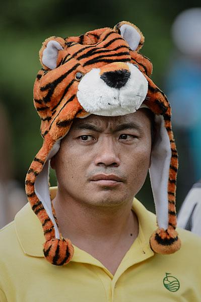 A golf fan reveals where his loyalties lie.