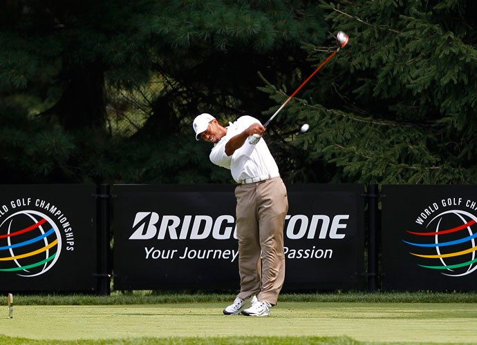 2011 | Comeback                        Tiger finishes T37 in his first event back, the WGC-Bridgestone Invitational at Firestone C.C., one of his favorite courses on Tour.