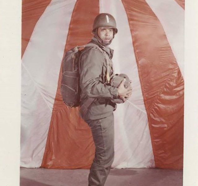 Tiger Woods Happy Veterans Day Pop, and to all the men, women and families that sacrifice so much. I'm forever grateful for your service.                     Pictured: Earl D. Woods, United States Army