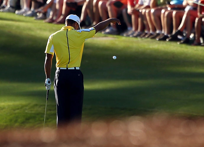 "Did Tiger's run-ins with the rules in 2013 change your opinion of him?                          PGA Tour pro responses:                          YES: 15 percent                          NO: 85 percent                          Champions Tour responses:                         YES: 26 percent                          NO: 74 percent                          OFF THE RECORD:                          OFF THE RECORD:                         ""No. It was already pretty low."""