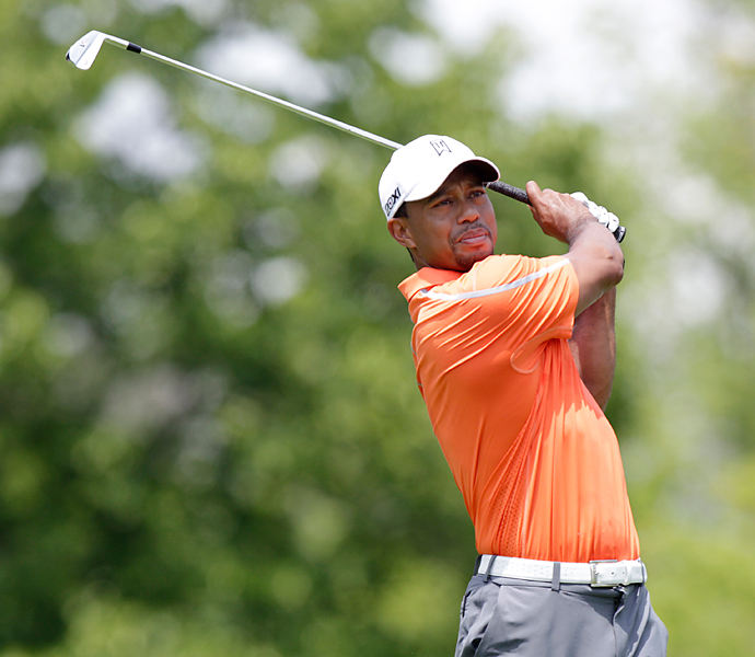 Tiger Woods had an up-and-down first round at the Memorial, finishing with a one-under 71.