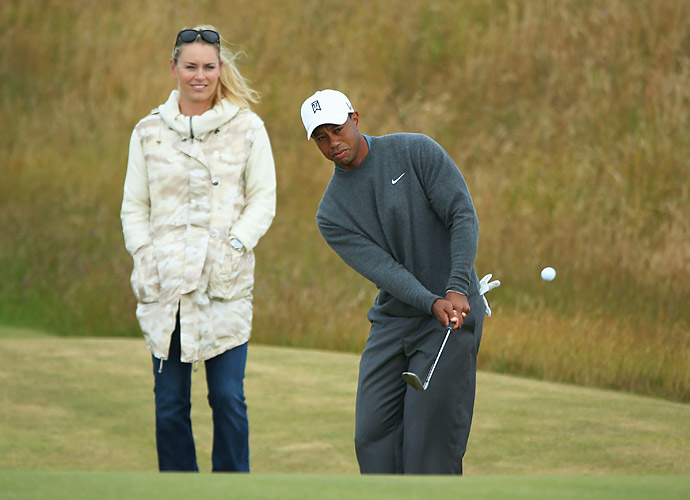 Woods and Vonn went public with their relationship in March by posting photos on Facebook.