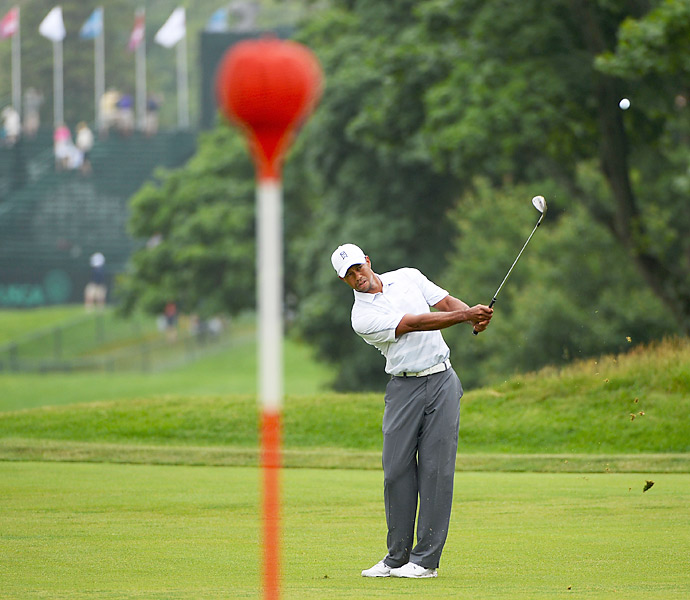 Woods is looking for his fourth U.S. Open title, and 15th major, this week at Merion.