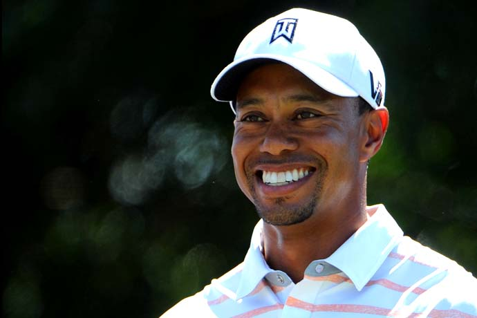 """Well, she follows one person.""                     --Tiger Woods on whether his mother is a golf fan."