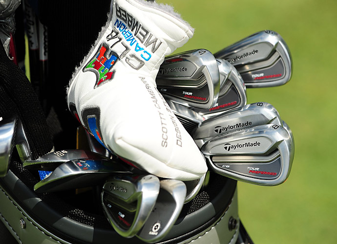 Tim Wilkinson uses TaylorMade Tour Preferred CB irons.