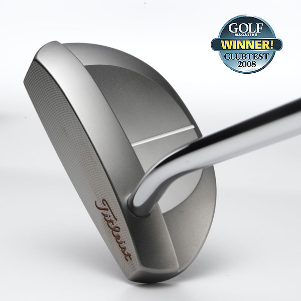 """Winner: Midsize Mallet Putters                       Titleist Scotty Cameron Red X3                       $299, steel;  titleist.com                                              The head is in tune with the shaft and the stroke flows like water. You can tell when you hit it off-center, but not in a harsh way. It puts a pure roll on it; putts stay on their intended line, they don't hop or skip. Its precision-milled, stainless steel body features a new, glare-resistant finish. Better players, in particular, will appreciate its tight handling, like a European sports car.                                              """"The excellent pendulum feel makes a good stroke easy to repeat."""" — Jeff Bones (9)                                              • More Midsize Mallet Putters                        • ClubTest Home Page"""