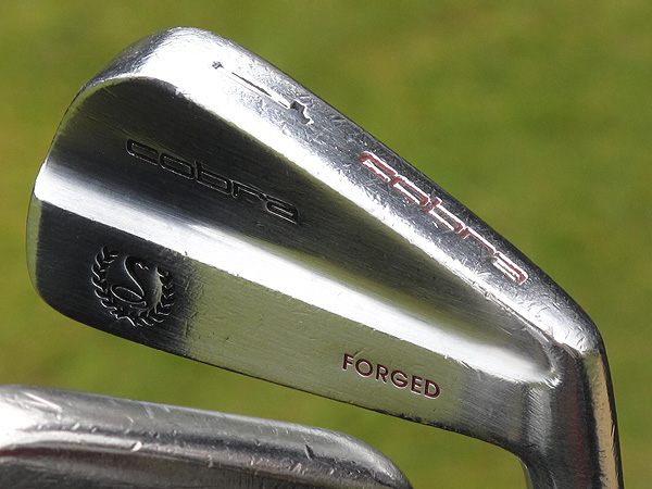— winner of the 1996 British Open at Royal Lytham & St. Annes — broke out a vintage butter knife (1-iron) on Thursday.