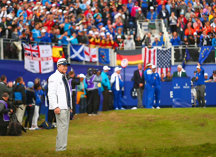 U.S. captain Tom Watson presided over the team's uninspiring performance this year.