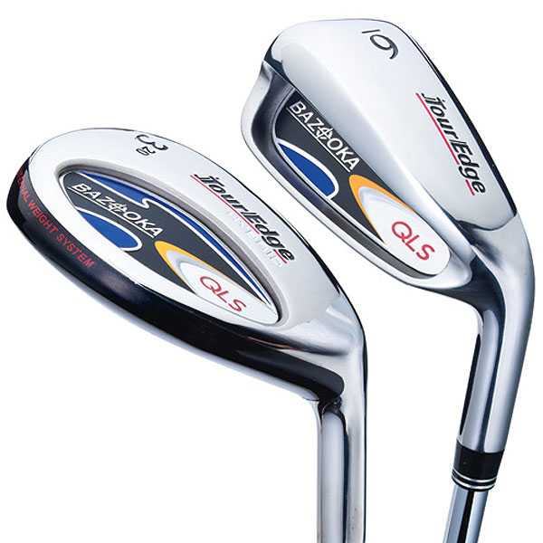 """$399, steel (plus graphite hybrids)/$499, graphite (plus graphite hybrids)                     touredge.com                                          It's for: All skill levels                                          David Glod, President and founder:                     """"We're trying to build in a ton of                     technology and create the most                     forgiveness possible at a great price.                     QLS hybrids have a lot of weighting                     technology inside the head that make them                     quite forgiving and easy to hit. Our irons also have                     a very wide sole and tons of perimeter weighting.""""                                          How it works: Combo sets like this one (two                     hybrids plus six irons) make so much sense for                     those who struggle with long and mid-irons.                     QLS hybrids have a thin (0.5mm), light crown to                     shift mass lower plus internal weight pads (heel                     and toe) to buoy forgiveness. Tour Edge does a                     commendable job of giving the hybrids and irons                     a similar look, from face shape to sole width. QLS                     irons have a large undercut cavity to shift mass                     rearward. The thin face (2.2 mm) should provide                     pop while a cavity medallion softens feel. You can                     also get three hybrids and five irons for $50 more."""