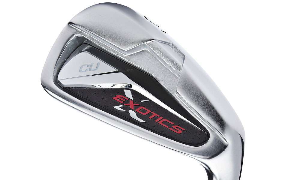 Tour Edge Exotics CU Irons, $499, steel (4-PW); $599, graphite (4-PW)                     Designed for: 2- to 12-handicappers. Read the complete review
