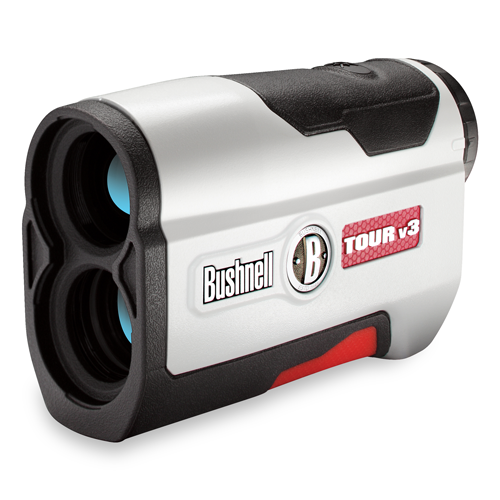 "Bushnell Tour V3, $299; bushnellgolf.com                       The latest iteration of rangefinders from Bushnell features the company's ""Jolt"" technology, which provides short bursts of vibration to help you ensure you've locked onto your intended target."