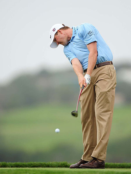 D.J. Trahan                       World ranking: 78                       Final Ryder Cup points standing: 11                       The winner of the Bob Hope Chrysler Classic in January, Trahan also turned in a solid performance at the U.S. Open, finishing in a tie for fourth. However, he has only two other top-10 finishes this season and has missed five cuts.