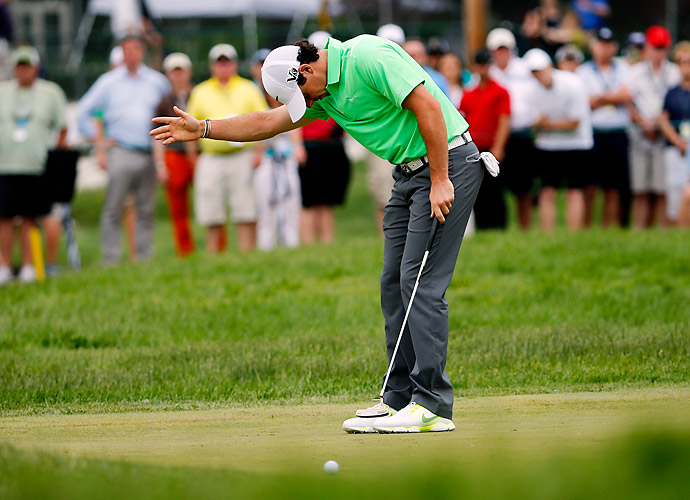 Rory McIlroy was never a factor in the 2013 U.S. Open, as rounds of 73, 70, 75 and 76 left him tied for 41st at 14-over.